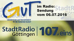 GuT im Stadtradio Göttingen